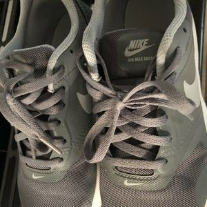 Nike Air Gray and white sneakers